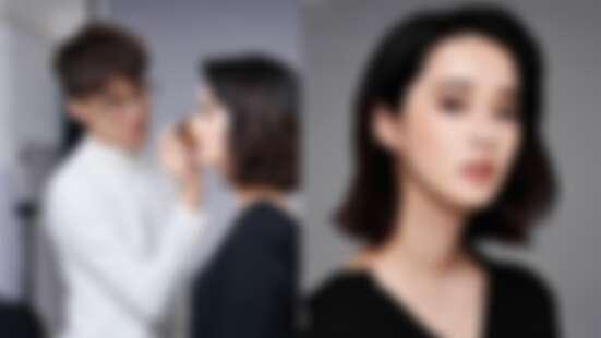 有亞洲底妝專家「無極限粉底」相助,專業彩妝師Ray & Stanley妝感薄透完美又持久,徹底擊敗歐美模特兒厚粉臉!