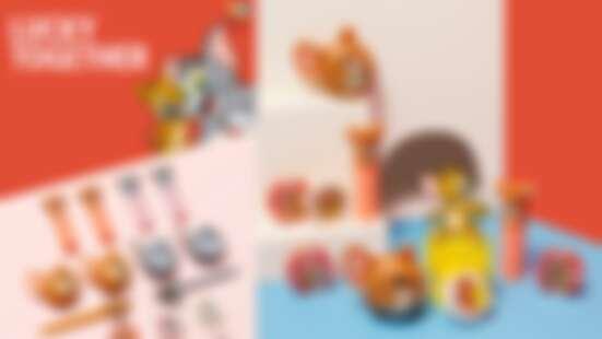 【2020新年限定】ETUDE HOUSE湯姆貓與傑利鼠彩妝萌到無極限,起司底妝蛋、湯姆貓沐浴球、傑利鼠腮紅超吸睛