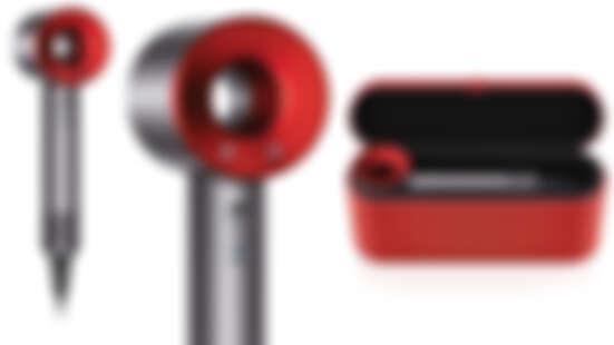 【2020新年限定】紅色dyson吹風機美翻~春節特別版,限量時尚皮質紅色禮盒超喜氣!