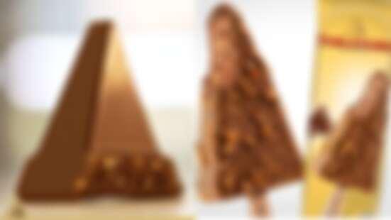 巧克力控必吃!Toblerone瑞士三角巧克力化身冰淇淋,香濃巧克力與杏仁完美搭配