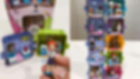 樂高全新「夢想秘密寶盒Cube」獨家開箱!5個女孩追夢故事變小巧積木,全疊在一起可愛度破表