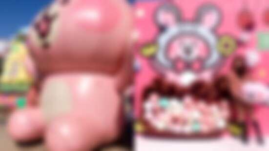 「卡娜赫拉鼠於妳快閃店」降臨高雄!首度以萌鼠裝扮亮相爆炸可愛,5米高兔兔及P助、巨型扭蛋機令人失心瘋