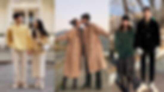 一模一樣情侶穿搭OUT!快來向韓國情侶學習最IN的恩愛裝扮,甜蜜過情人節!