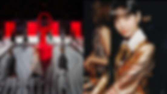 2020秋冬米蘭時裝週|炫目全場的超現實迷幻空間!Black Pink Lisa以洋娃娃造型現身Prada秀場!