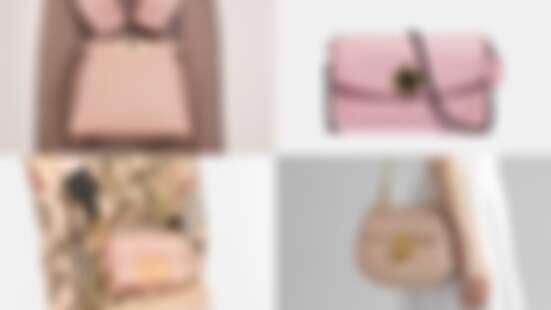 一揹就是春季的浪漫氣息!盤點Coach、BVLGARI、Fendi…各大精品牌櫻霧粉手袋(持續更新