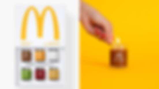 麥當勞真的推出香氛蠟燭了!從起司、牛肉、洋蔥、番茄醬味道通通有,組合起來就是「漢堡」的味道