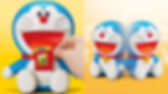 日本推「哆啦A夢智能機器人」有27種表情,百寶袋還拿得出道具,每個人都能擁有哆啦A夢