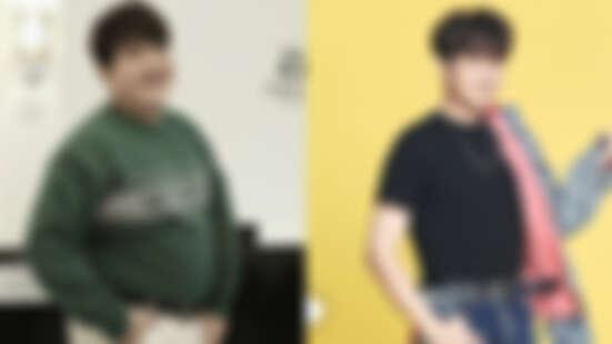 神童不到半年減肥狂瘦37公斤!臉變尖、大肚腩消失,判若兩人直接晉升帥氣歐巴