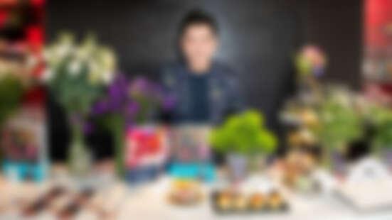 花藝療癒!遠東飯店×花藝造型師李明川  跨界推出《馬可×曉‧花事》聯名下午茶
