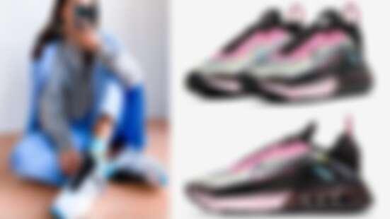 坊間「細腿神鞋」傳說,Nike Air Max 2090釋出甜而不膩新配色:粉紅X黑