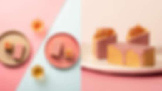 期間限定!《微熱山丘》推粉紅蘋果酥,裹上珍貴紅寶石巧克力粉嫩登場