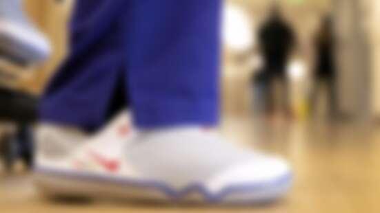 為前線醫護送暖!Nike捐3萬雙Hope刺繡運動鞋,為第一線工作人員加油打氣
