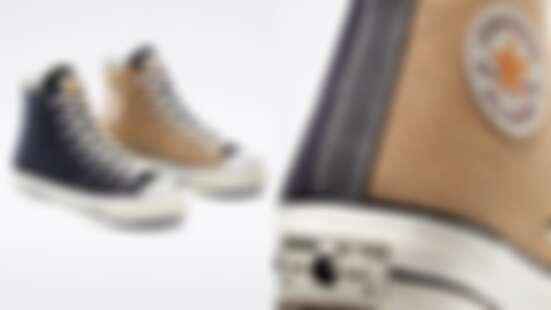 沒買到會後悔!Converse Renew系列將發表與工裝品牌Carhartt聯名鞋款,高筒設計、拼接配色太值得收藏