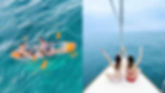 今年夏天一定要玩!澎湖福朋喜來登推超夢幻水上活動,透明獨木舟飽覽海底美景、搭頂級帆船出航
