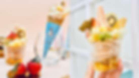 減肥也大口吃冰!Aunt Stella推零乳糖紅心芭樂雪酪,新鮮水果、果乾搭配低脂冰淇淋,全台只有這裡賣