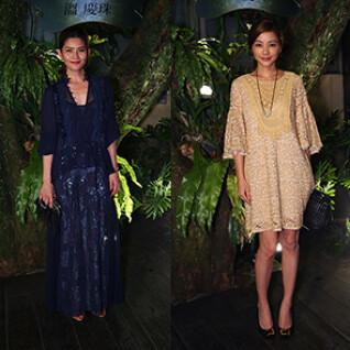 溫慶珠2015春夏時尚派對,名人齊聚一起輕搖滾
