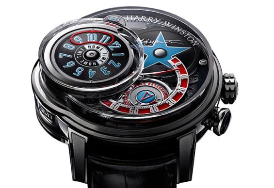 海瑞溫斯頓全新腕錶大使 Robin Thicke 於 Opus 14 發表會上獻唱  一同與收藏夾公襄盛舉