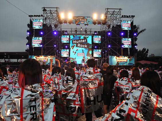 台灣首場泥濘音樂祭  Hunter Rock 時尚創舉 眾多藝人、部落客共襄盛舉