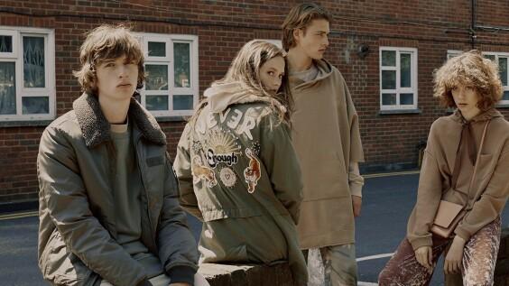 90年代的英倫街頭!PULL&BEAR秋冬打造華麗頹廢風格