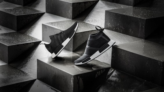 adidas Originals 秋冬再推新款!NMD碳灰配色羊毛編織鞋太暖心
