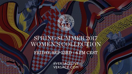 【米蘭時裝週Live】Versace春夏大秀倒數:9月24日凌晨12點正式登場!