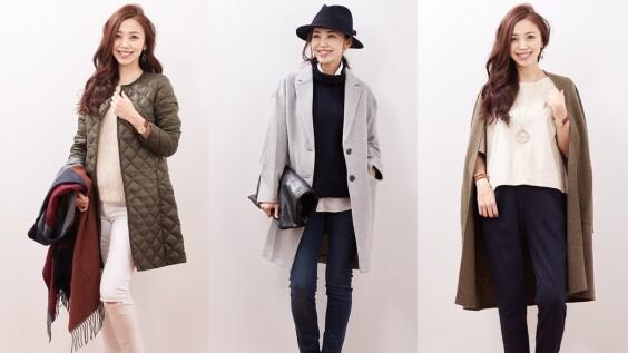 每天早上就看她學穿搭!日本時尚達人教你大衣這樣搭