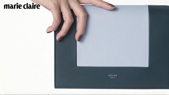 極簡控最愛的CÉLINE又有新包了!30秒帶你認識畫框包「Frame」