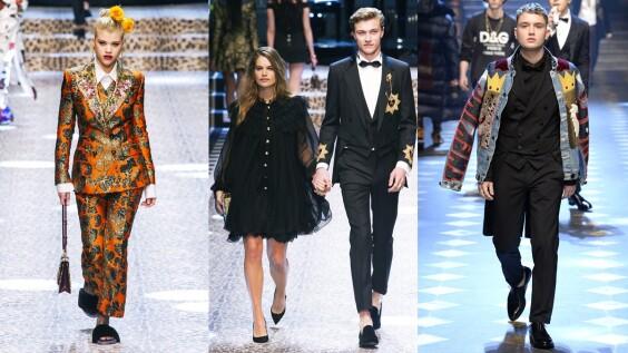 顛覆時裝大秀模式!15位必追蹤Instagram紅人走上Dolce & Gabbana秋冬大秀
