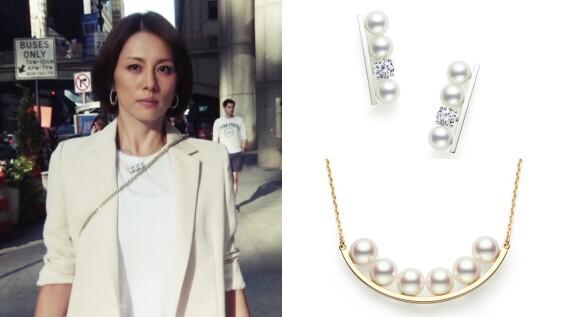 看日劇學穿搭!米倉涼子、松嶋菜菜子的Tasaki珍珠時髦搭配術
