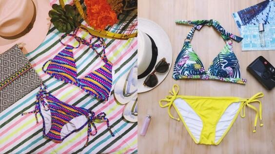 小麥肌、暖色調膚色這樣挑就對了!Voda Swim推出亞洲女孩限定款印花泳裝