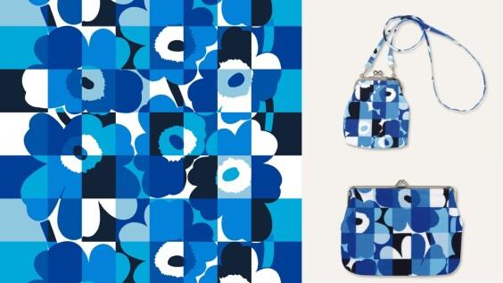紀念建國100週年!Marimekko將經典印花Unikko換上芬蘭國旗藍白配色