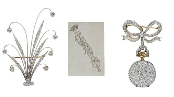 【珠寶小學堂】8件獨一無二的骨董珠寶作品,帶你認識Tiffany & Co.的風格美學