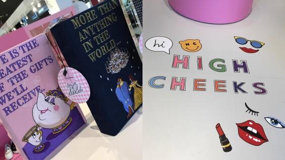 迪士尼控、飾品控請注意!少時孝淵也愛的超可愛韓牌high cheeks快閃店進駐台灣