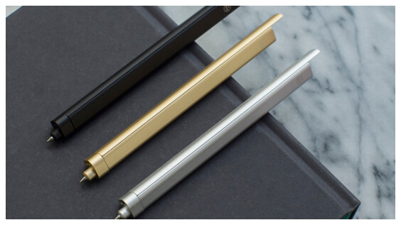支持台灣在地設計!時尚感爆棚的HMM滑動筆 文具控必買
