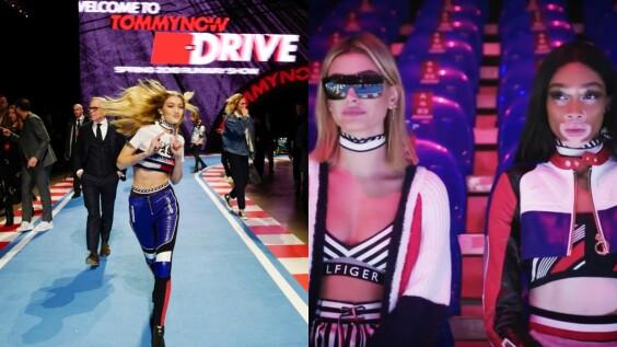 【米蘭時裝週】Gigi 與 Bella Hadid 合體,在 Tommy Hilfiger 米蘭大秀變身飆仔!