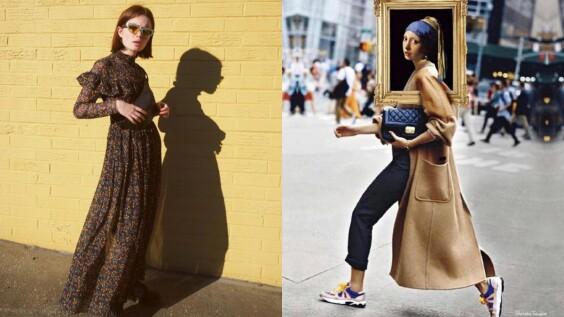 翻新過去正規的宮廷裝束,以最潮的復古混搭法則引領時尚!