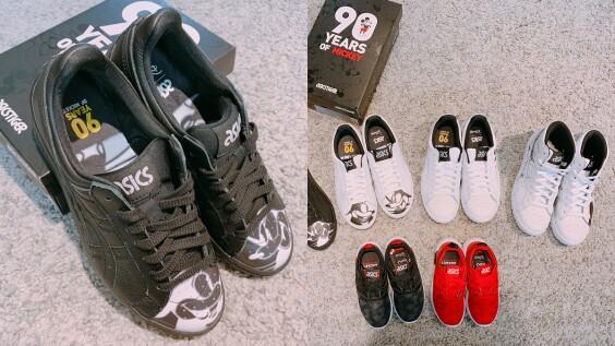 第一代米奇圖騰、90歲復古鞋款絕對要收!ASICSTIGER與迪士尼聯名米奇90周年紀念鞋