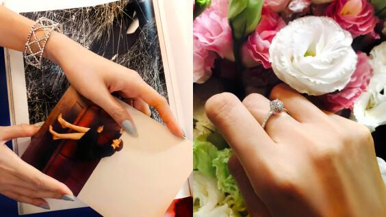 將頂級鑽石融入蕾絲、花朵的浪漫藝術美學,展現女性獨有的綺麗優雅魅力