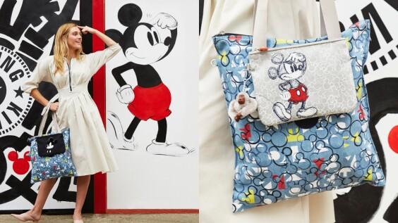 米奇控必收!時髦與功能兼具的手袋品牌Kipling,將米奇的各式可愛模樣轉化在全新概念的手袋上啦!