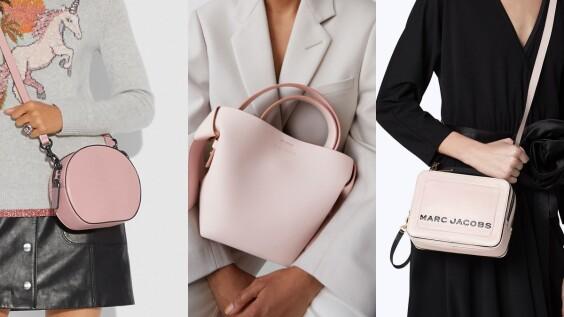 比起純粉色更多了浪漫氣息!PANTONE春夏色之一「壓縮玫瑰紅」,就從這7種包款入手