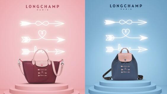 Longchamp期間限定的訂製服務又來了!愛心、喵星人、幸運草…各種可愛圖騰隨你發揮