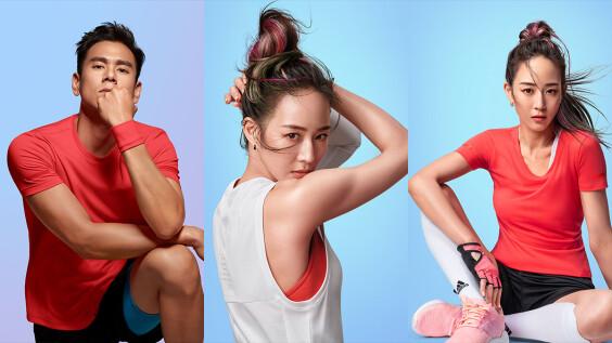 涼感運動的時尚風範,讓專業的來!跟著張鈞甯與adidas抗暑機能CLIMA系列「領風起跑」!