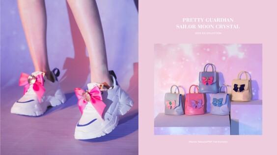 Grace gift美少女戰士週邊竟然推出老爹鞋、迷你後背包!水手月亮、火星、金星…你最想當哪一個?