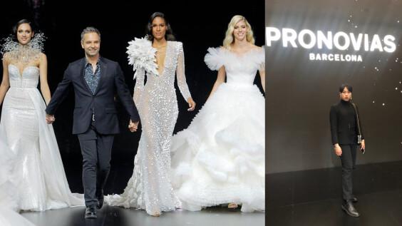 直送西班牙看秀大豐收 第一屆決戰禮服伸展台 得獎新銳設計師參與2020春夏Pronovias婚紗秀: 大開眼界