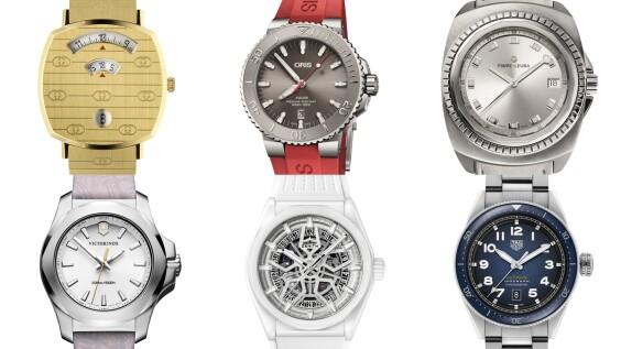 Gucci超時髦中性腕錶、 Oris以潛水錶拋出環保議題...瑞士Baselworld巴塞爾鐘錶展速報 (2)