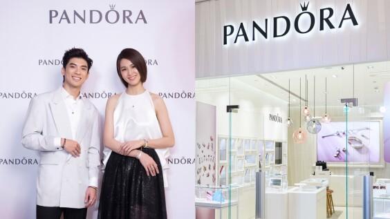 空間更大、更好逛!女孩夢幻逸品PANDORA全新旗艦店降臨台北101