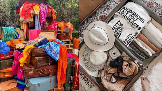 超實用!行李箱收納小技巧「口袋摺法」把衣服都變膠囊,帶再多都不怕亂!