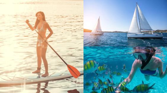 夏天美人魚最愛的潛水、SUP、浮潛!盤點世界各地旅行景點玩水攻略
