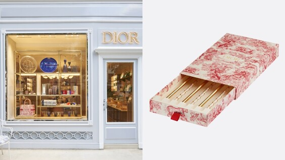首間DIOR MAISON家飾專賣店終於開幕,官網上架這款絕美手工環保吸管