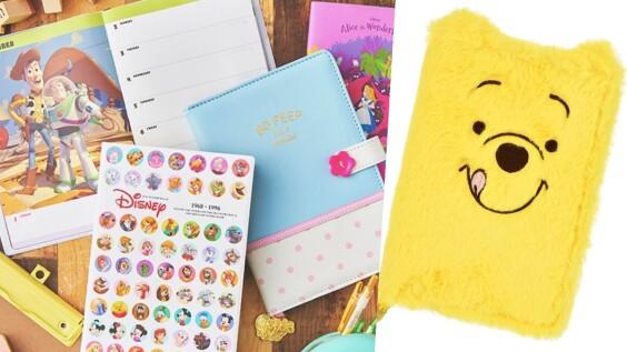 用可愛迎接新年!日本迪士尼2020年手帳月曆推薦,愛麗絲、小熊維尼、奇奇蒂蒂、玩具總動員......
